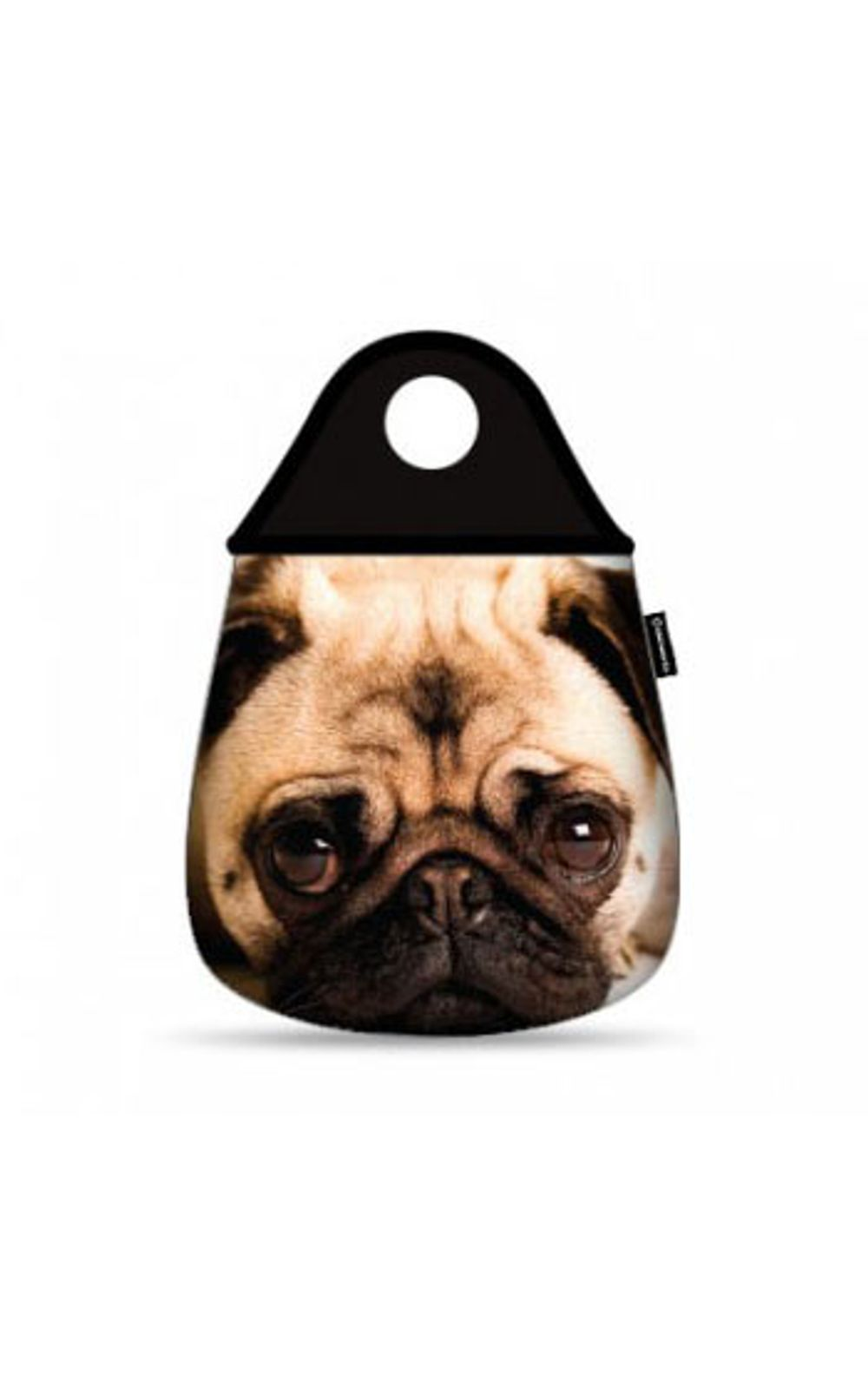 Foto 1 - Lixeira para Carro Cachorro Pug