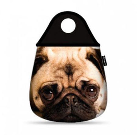 Lixeira para Carro Cachorro Pug
