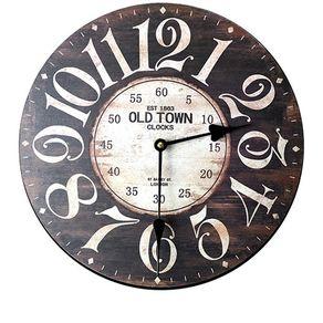 4ae1ea1ae5d Relógio de Parede Old Town Vintage