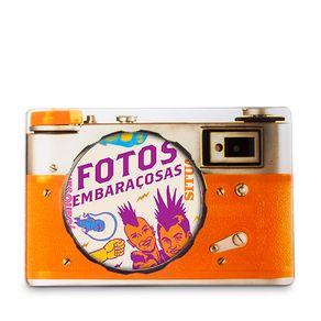 Porta-Retrato-Camera-Laranja