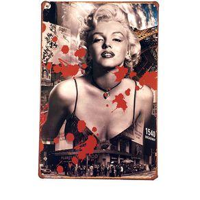 Placa-Marilyn-Monroe