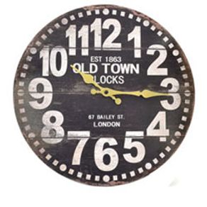 11edd5e0ce2 Relógio de Parede Londres Old Town