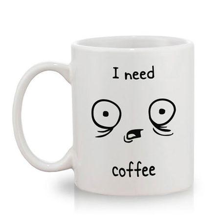 Caneca Café I Need Coffee