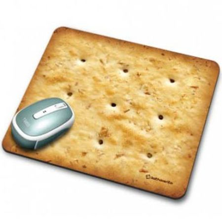 Mouse Pad Biscoito Cream Cracker