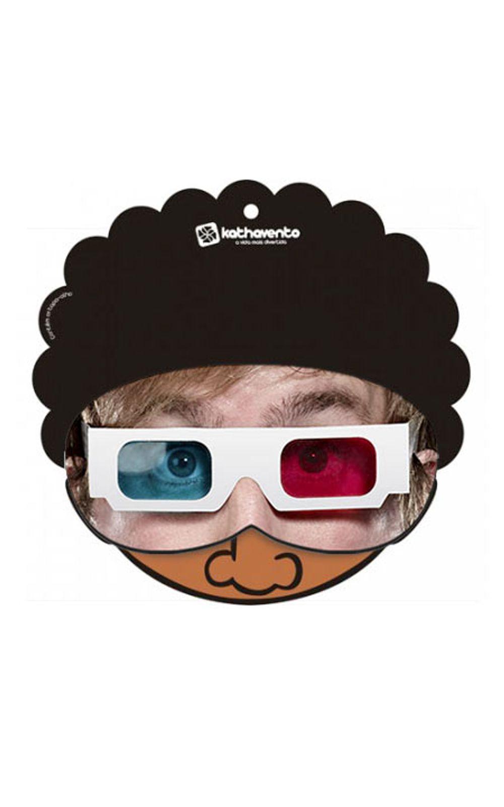 Foto 2 - Máscara para Dormir Óculos 3D
