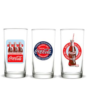Kit-3-copos-coca-cola-vintage-classic