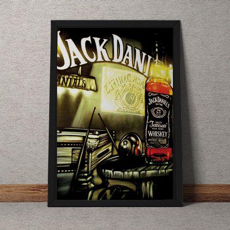 Quadro Decorativo Jack Daniels Vintage
