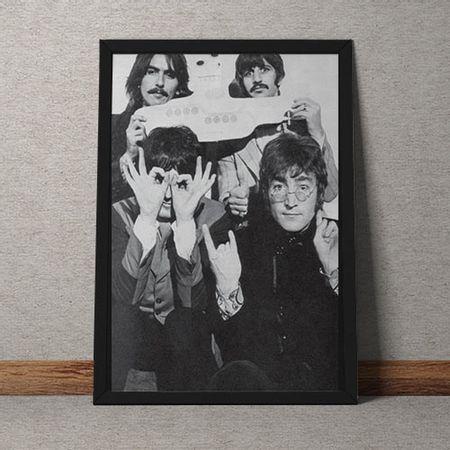 Quadro Decorativo The Beatles