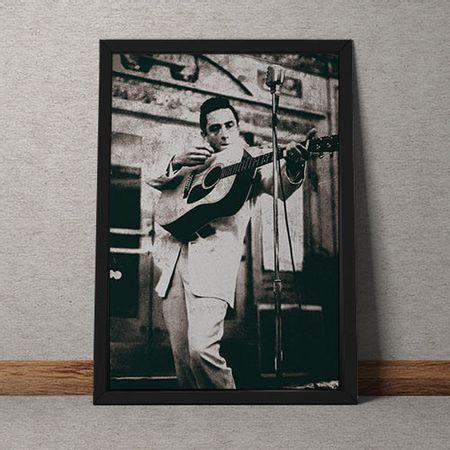 Quadro Decorativo Johnny Cash