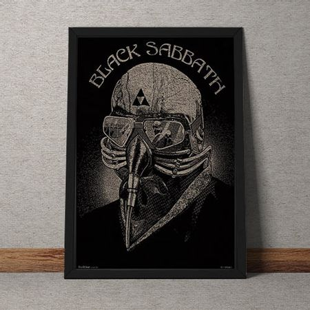 Quadro Decorativo Black Sabbath