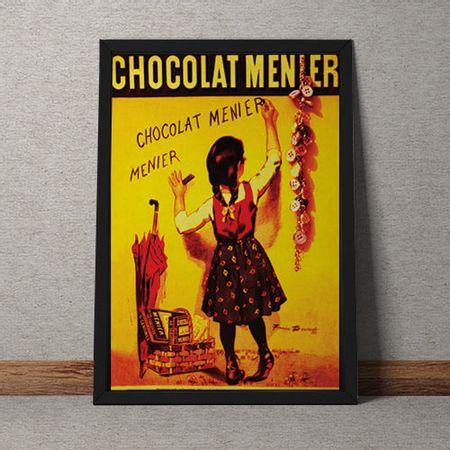 Quadro Decorativo Chocolat Menier