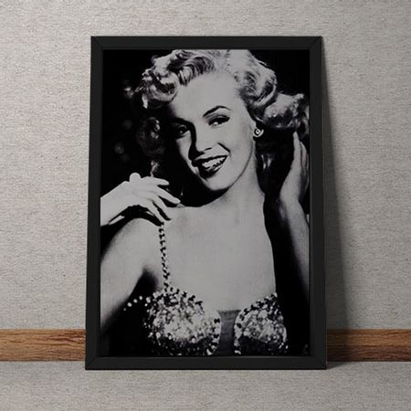 Quadro Decorativo Marilyn Monroe Retro