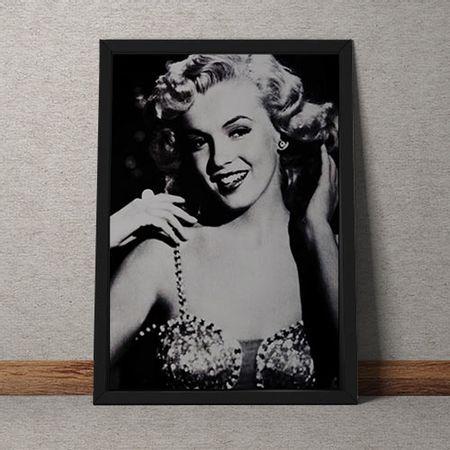 Quadro Decorativo Marilyn Monroe Retro