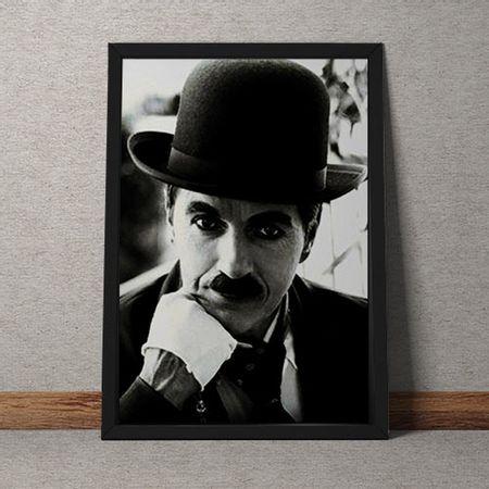 Quadro Decorativo Charles Chaplin A Face