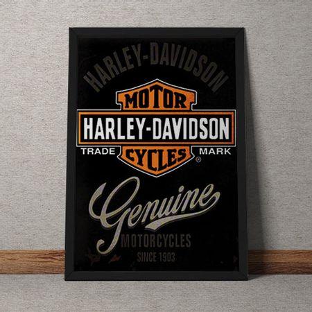 Quadro Decorativo Harleyy Davidson