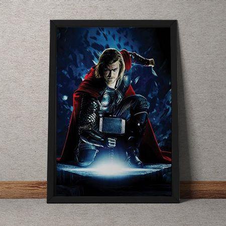 Quadro Decorativo Thor Marvel