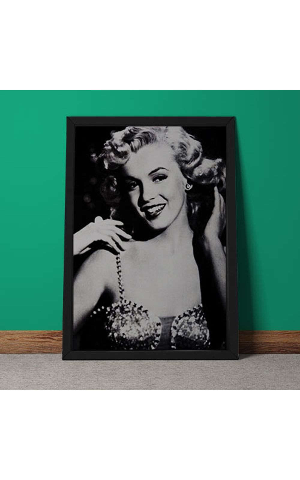 Foto 5 - Quadro Decorativo Marilyn Monroe Retro