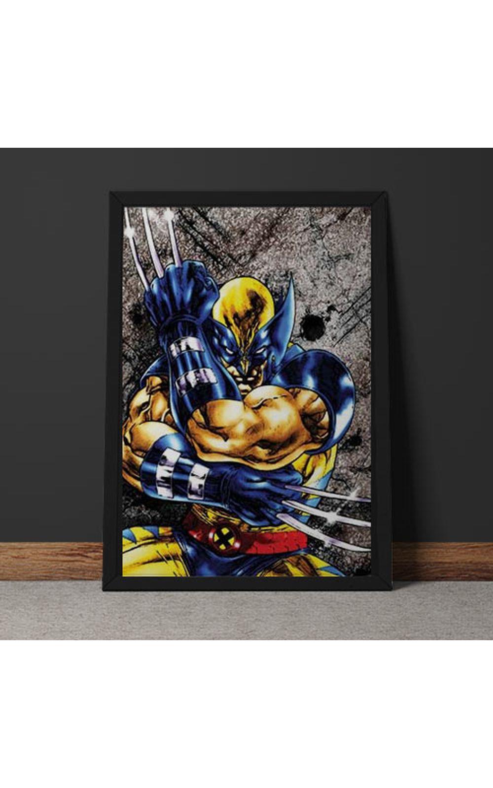 Foto 6 - Quadro Decorativo Wolverine Marvel