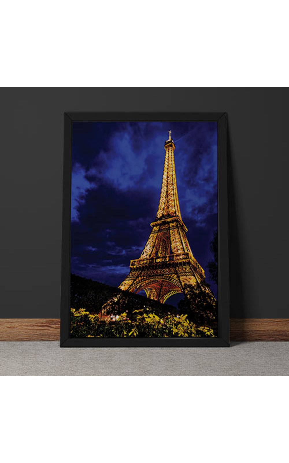 Foto 6 - Quadro Decorativo Torre Eiffel Colorida