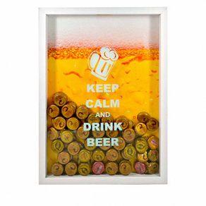 Quadro-porta-tampinhas-de-cerveja-keep-calm-branco-7896467388101