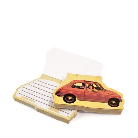 Caderno de Anotações Carro Fiat 147 Pin Up