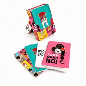 Kit-Caderno-de-Anotacoes-Pop-Art-Gatos-E-Cachorros---4-Pecas