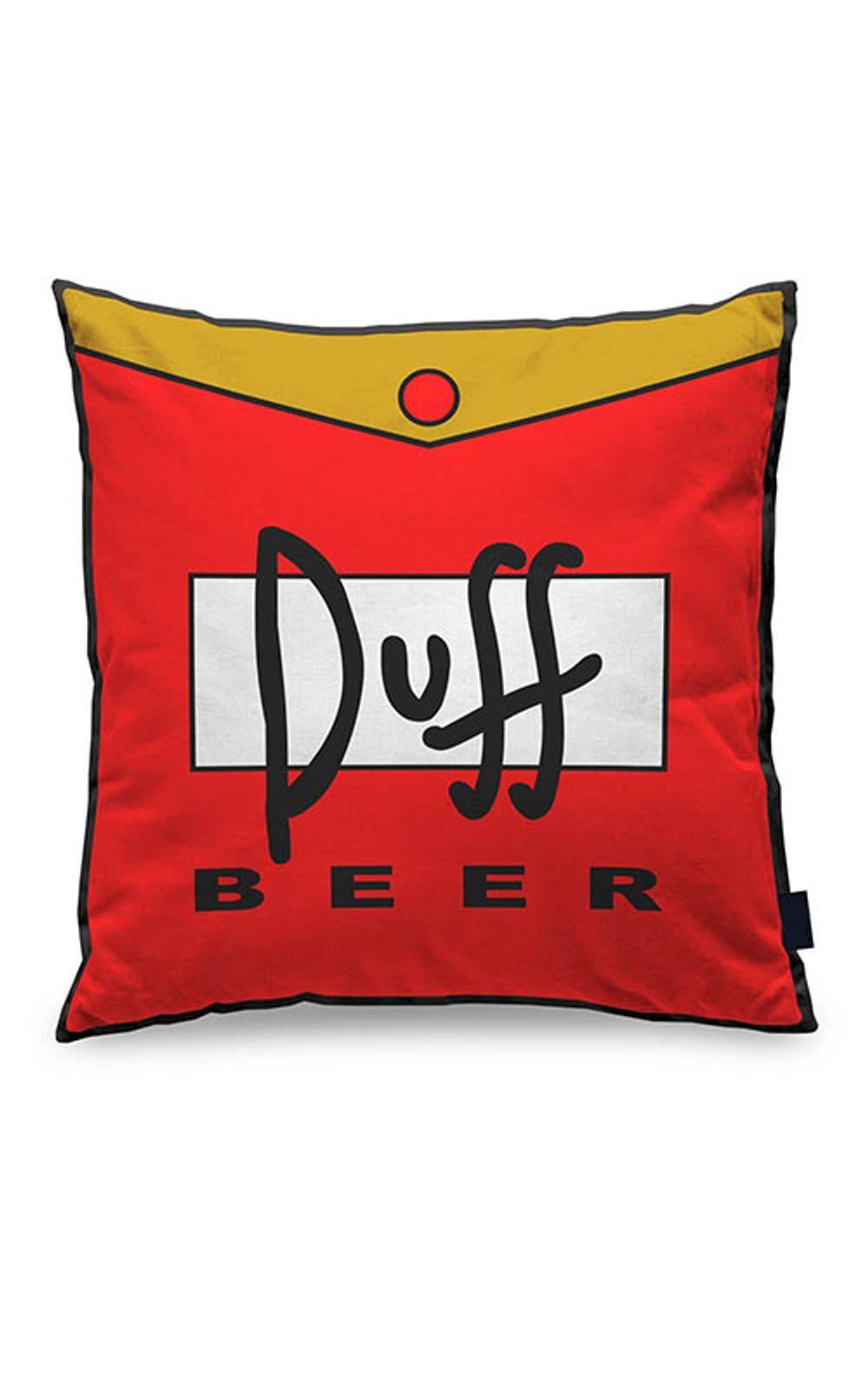 Foto 1 - Almofada Cerveja Duff Beer Quadrada