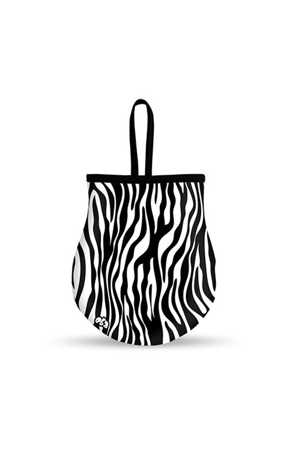 Foto 1 - Lixeira Para Carro Zebra