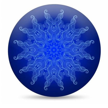 Almofada Sol Azul