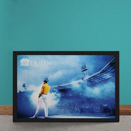 Quadro Decorativo Queen Freddie Mercury no Estadio