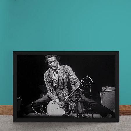 Quadro Decorativo Chuck Berryverdao