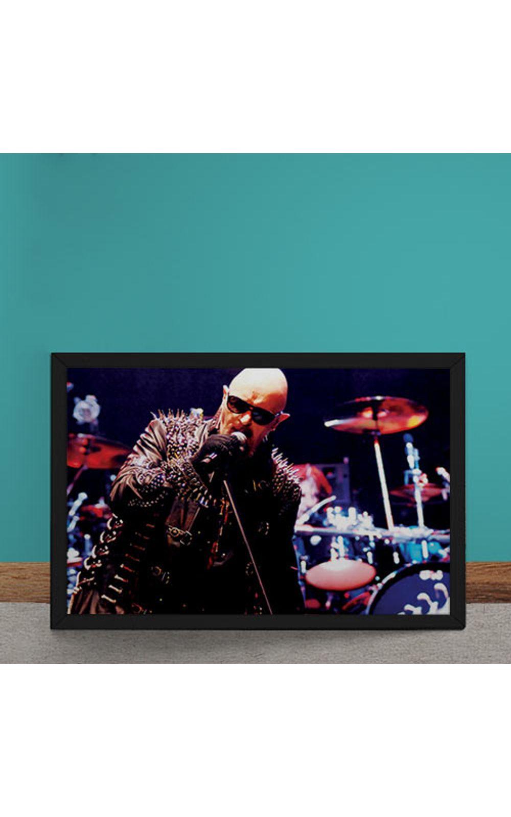 Foto 1 - Quadro Decorativo Judas Priest Rob Halford