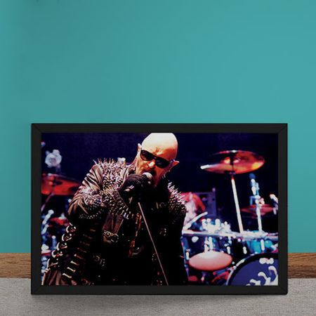 Quadro Decorativo Judas Priest Rob Halford