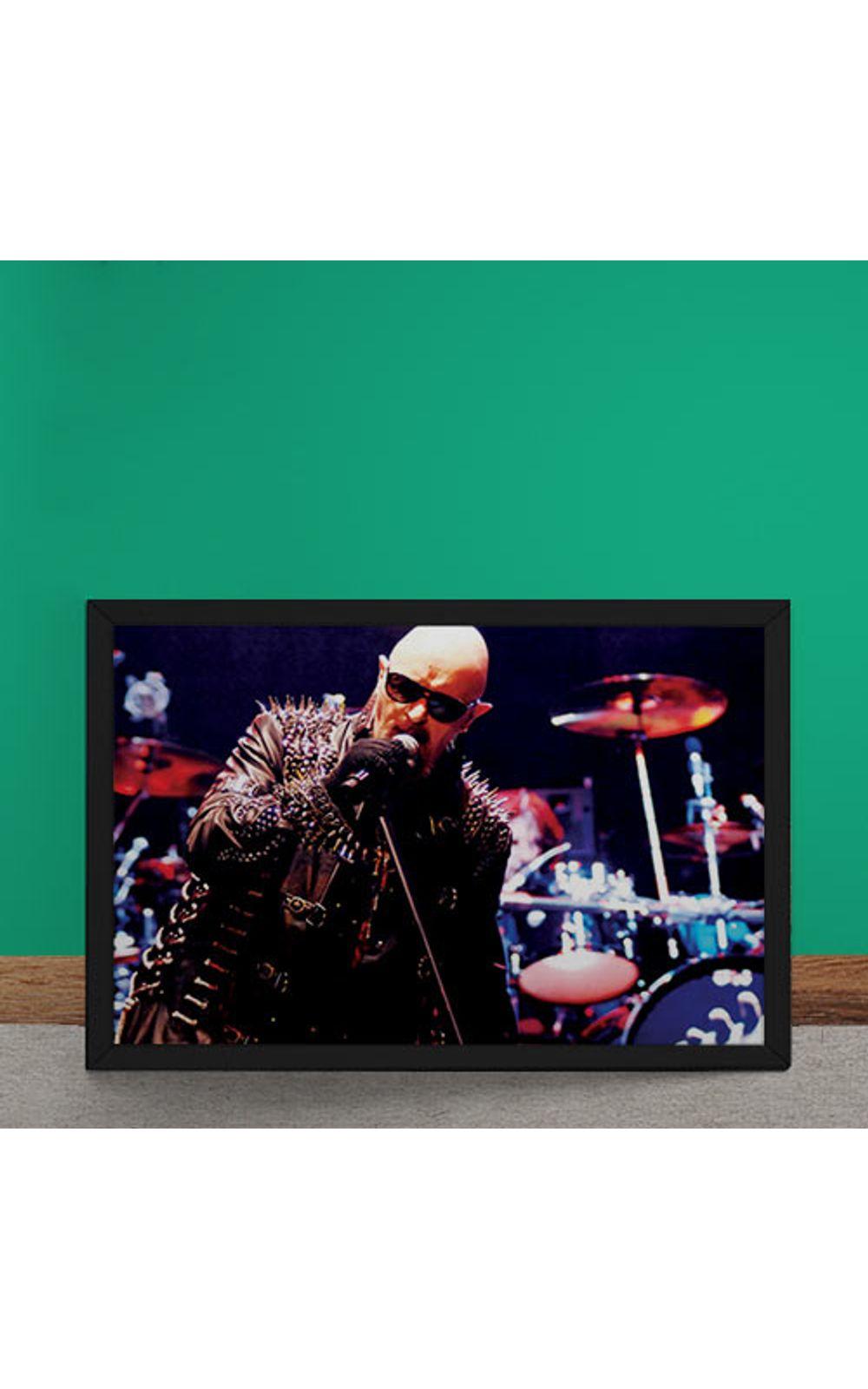 Foto 2 - Quadro Decorativo Judas Priest Rob Halford