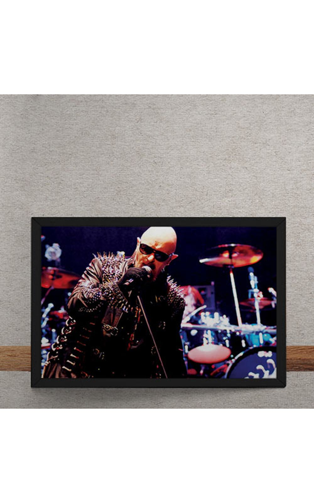 Foto 3 - Quadro Decorativo Judas Priest Rob Halford