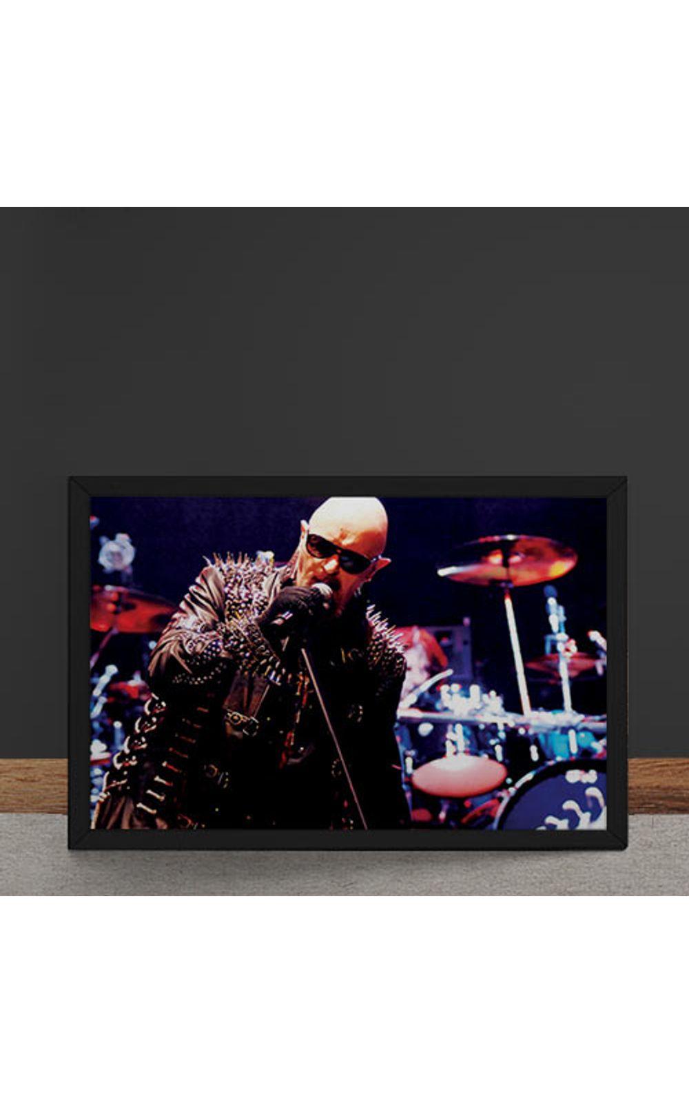 Foto 4 - Quadro Decorativo Judas Priest Rob Halford