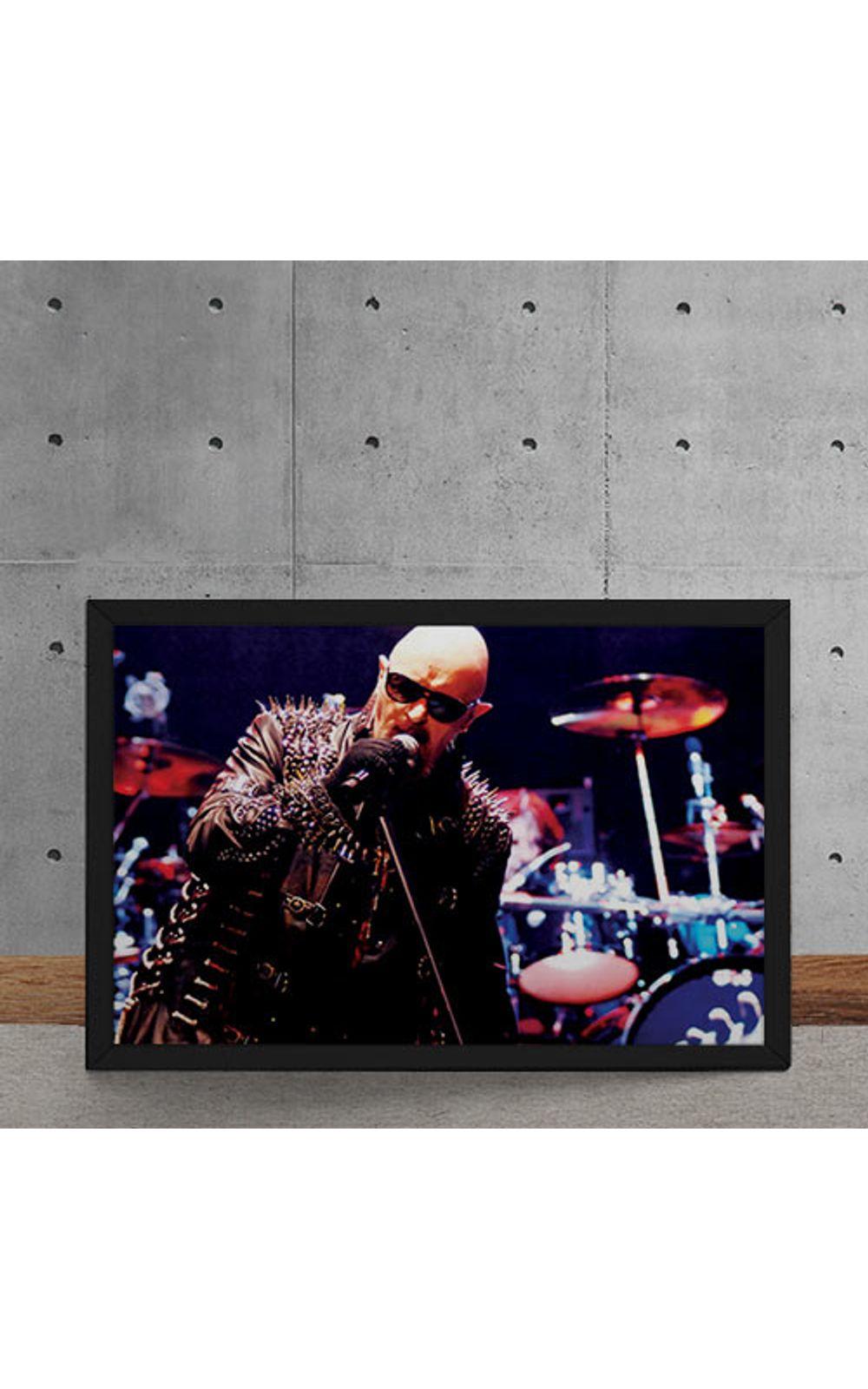 Foto 5 - Quadro Decorativo Judas Priest Rob Halford