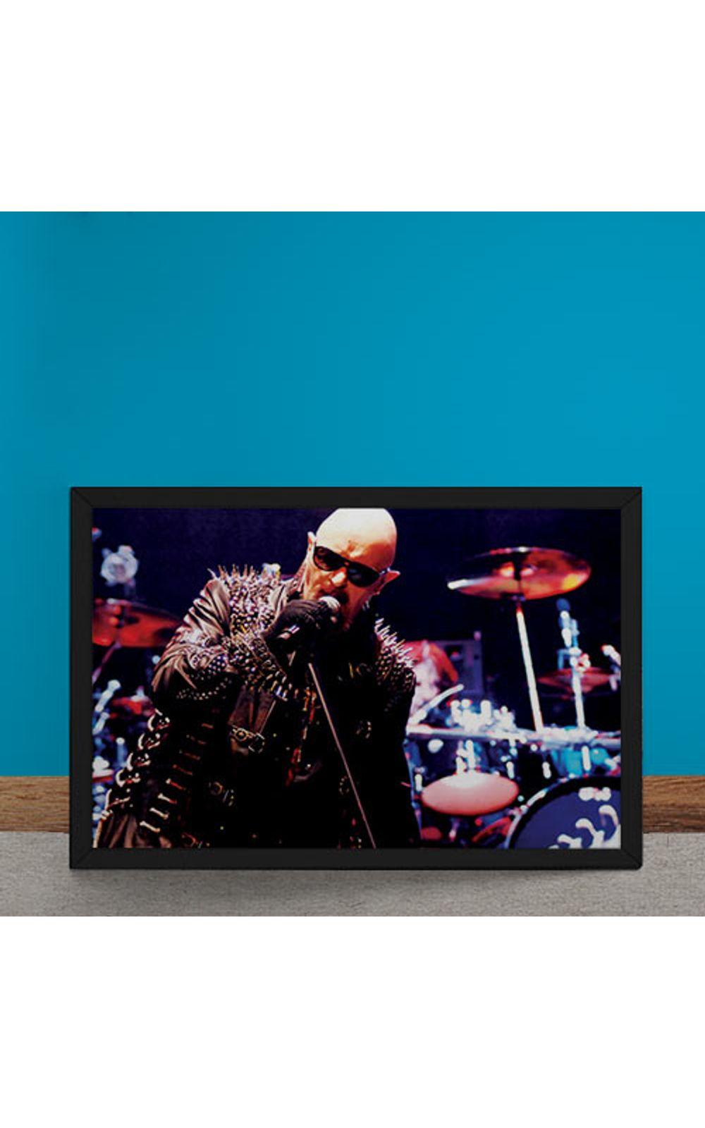 Foto 6 - Quadro Decorativo Judas Priest Rob Halford