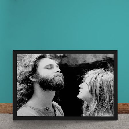 Quadro Decorativo The Doors Jim Morrison Pamela Courson