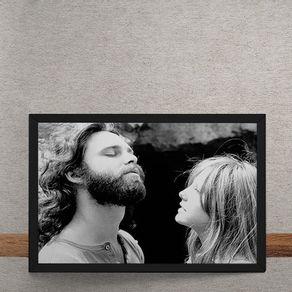The-Doors-Jim-Morrison-Pamela-Courson-tecido