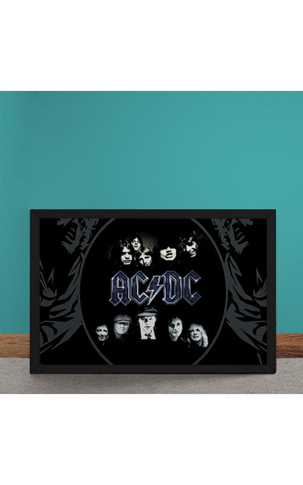 Foto 1 - Quadro Decorativo AC DC
