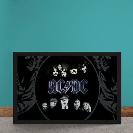 Quadro Decorativo AC DC