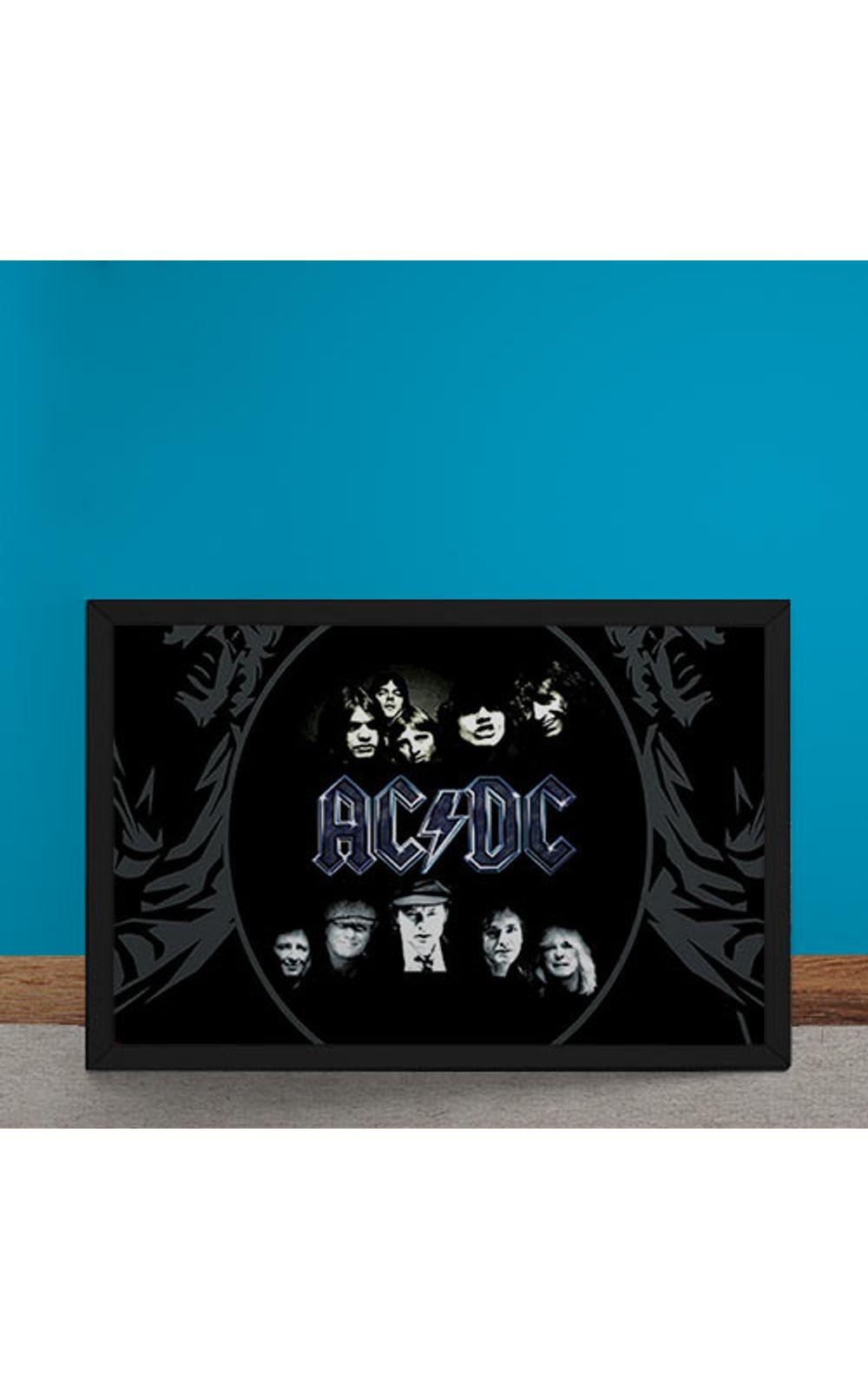 Foto 6 - Quadro Decorativo AC DC