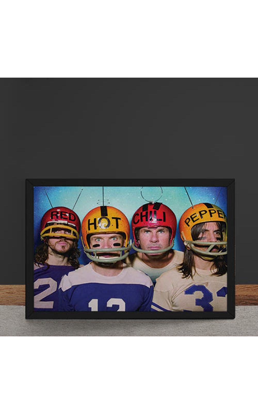 Foto 4 - Quadro Decorativo Red Hot Chili Peppers Futebol Americano