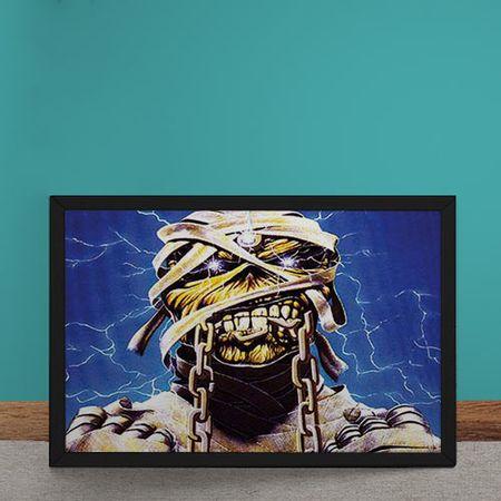 Quadro Decorativo Iron Maiden Ed Hunter Mumia