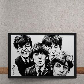 Beatles-Caricatura-tecido