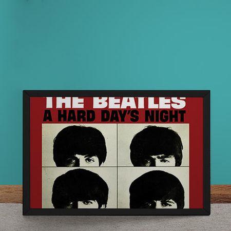 Quadro Decorativo Beatles Hard Days Night