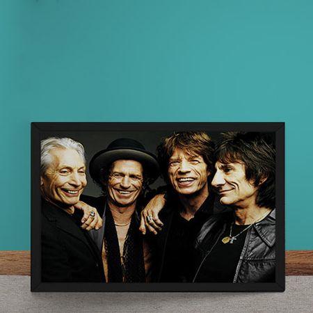 Quadro Decorativo Rolling Stones Sorrisos
