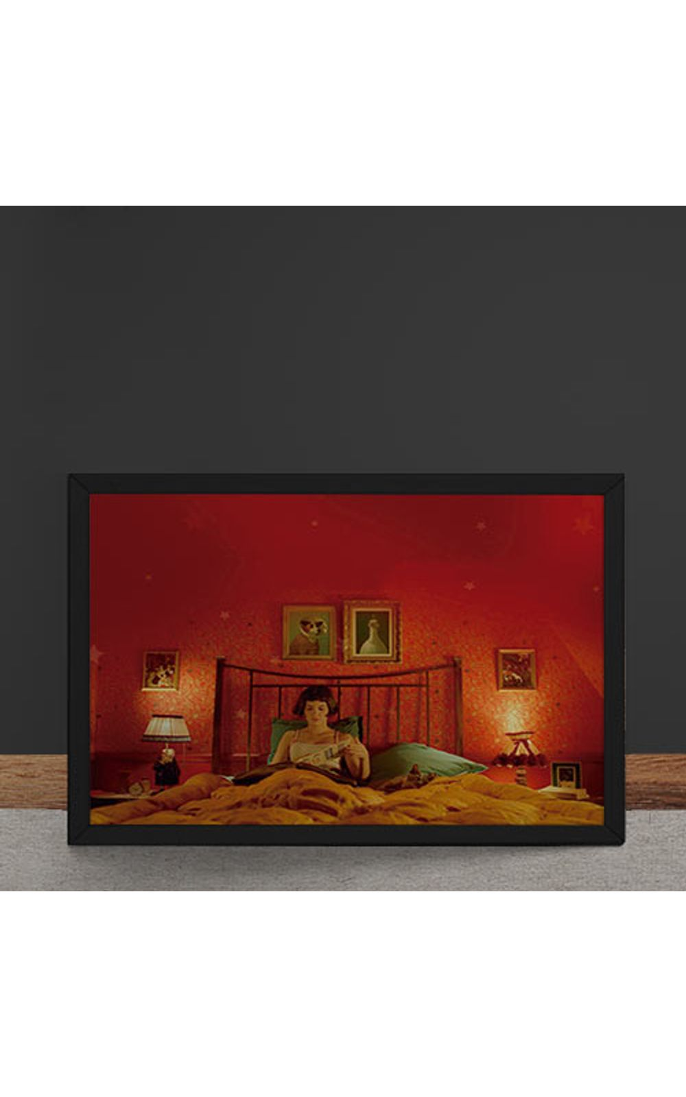Foto 4 - Quadro Decorativo O Fabuloso Destino de Amelie Poulin