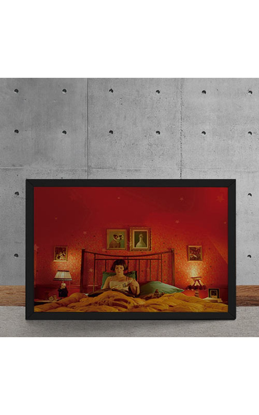 Foto 5 - Quadro Decorativo O Fabuloso Destino de Amelie Poulin